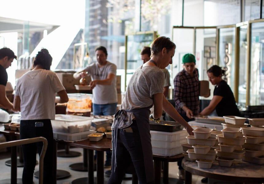 How Hospo is Giving Back to the Community
